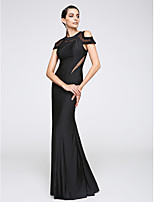 TS Couture® Formal Evening Dress Trumpet / Mermaid Jewel Floor-length Jersey