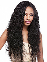 Glueless Lace Front Human Hair Wigs Water Wave Unprocessed Brazilian Virgin Human Hair Wig For Women