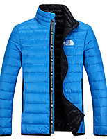 The North Face Men's Down Jacket Waterproof Windproof Outdoor Sports Trekking Camping Hiking Full Zipper Jackets