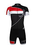 PALADIN Vélo/Cyclisme Ensemble de Vêtements/Tenus Homme / Unisexe Manches courtesRespirable / Résistant aux ultraviolets / Séchage rapide
