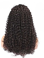 Full Lace Wigs Brazilian Kinky Curly Hair 6A 14