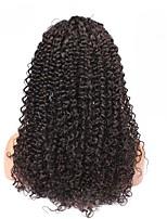 полные парики шнурка бразильскую кудрявый кудрявые волосы 6a 14