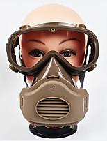 una protección contra el viento y el polvo del respirador de media máscara de carbón activado máscaras contra el polvo industrial mano de