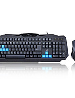 Wired USB Keyboard & Mouse