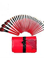 30Pcs Wool Makeup Brushes Set