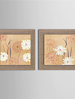2 Panel Wall Art Pictures Oil Painting On Linen Home Decoration Abstract Flower Artwork The Picture Decor Painting