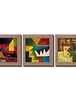 Modern Wall Art Pictures Abstract People Oil Painting Hand-Painted On Linen Home Decoration Painting With Frame