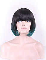 European And American Fashion Wig Female Short Roll Of Cos