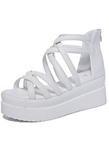 Women's Sandals Summer Sandals / Open Toe  Casual Wedge Heel Others Black / White Others