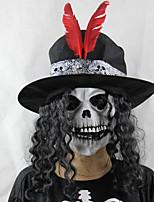 Разные цвета Аксессуары для вечеринок Halloween 1Шт./набор Маска Pезина Классика / Урожай Theme Other Не персонализированные