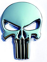 Metal Punisher Logo The Metal Skeleton Stickers Trailer Side Mark