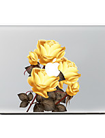 Golden Rose Decorative Skin Sticker Decal for MacBook Air/Pro/Pro with Retina