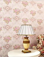 Fleur / Décoration artistique / 3D Fond d'écran pour la maison Contemporain Revêtement , Autre Matériel adhésif requis fond d'écran ,