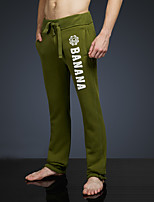 LOVEBANANA Men's Active Pants Green-38013