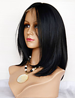 Silk Straight Human Hair Lace Wigs Eurasin Virgin Hair Full Lace Wigs For Women