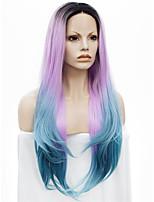 Perruque Dentelle Perruques pour femmes Rose Perruques de Costume Perruques de Cosplay