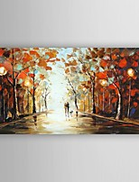 Oil Painting Landscape by Knife Hand Painted Canvas Painting with Stretched Framed Ready to Hang