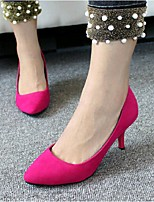 Women's Heels Fall Heels Dress Stiletto Heel Others Black / Blue / Fuchsia Walking