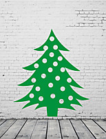 AYA DIY Wall Stickers Wall Decals Christmas Tree Stickers 56*64cm