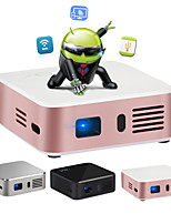 Owlenz@ E05 LCD Home Theater Projector Android OS Wifi FWVGA (854x480) 120lumens LED Ratio 16/9 And 4/3