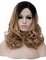 Linen in long curly hair and the wind nightclub performances Street color million with partial wig.