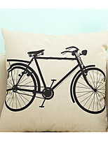 1 pcs Cotton/Linen Pillow CaseNovelty / Graphic Prints Traditional/Classic / Modern/Contemporary