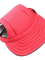 Dog Bandanas & Hats Red / Blue / Black Dog Clothes Winter / Spring/Fall Solid Casual/Daily