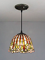 25W Pendant Light   Traditional/Classic / Tiffany Painting Feature for Mini Style Metal Entry / Hallway