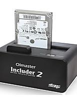 dur boîtier de disque dur externe mobile siège 2,5 / 3,5 pouces démarre couleur aléatoire sata