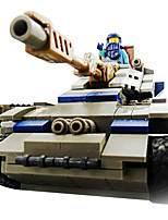 Building Blocks For Gift  Building Blocks Model & Building Toy Tank / War Chariot / Helicopter / House Plastic Above 6 Rainbow Toys