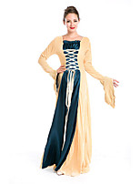 Costumes More Costumes Halloween Yellow / Blue Solid Terylene Dress / More Accessories