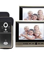 30W 120 CMOS système sonnette Sans fil Sonnette vidéo Multifamilial
