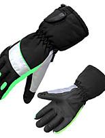 водонепроницаемый лыжные перчатки мужчины и женщины в зимний период, так и зимой добавить толстые теплые перчатки на открытом воздухе