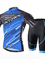 XINTOWN® Cycling Jersey with Shorts Men's Short Sleeve Bike Breathable / Quick Dry / Ultraviolet Resistant / Sweat-wicking / 3D PadJersey