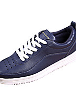 Men's Sneakers Spring / Fall Comfort PU Casual Flat Heel  Black / Blue / White Sneaker