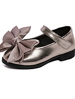 Girl's Flats Spring / Fall Flats Leatherette Wedding / Outdoor / Party & Evening / Dress / Casual Flat Heel Bowknot