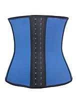 Serre Taille Vêtement de nuit Femme,Sportif Couleur Pleine Polyester / Spandex Beige / Bleu / Noir Aux femmes