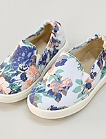 Girl's Loafers & Slip-Ons Spring / Summer Comfort Canvas Casual Flat Heel Slip-on Blue Others