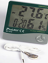 Indoor Digital Multi - Function Temperature And Humidity Measuring Instrument Home Thermometer