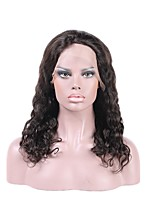 8''-26'' Big Natural Wave Brazilian Virgin Glueless Full Lace Human Hair Wigs Glueless Lace Front Wigs 8A