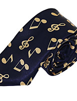 Wedding Party Polyester Silk Leisure Jacquard Tie Necktie for Adult Men