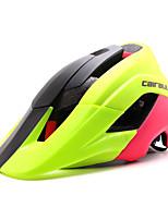 Capacete(Branco / Vermelho / Preto / Azul / verde claro,PC / EPS) -Montanha / Estrada / Esportes-Mulheres / Homens / Unisexo 15 Aberturas