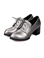 Women's Heels Fall / Winter Heels PU Outdoor / Casual Chunky Heel Others Black / Gray / Taupe Others