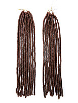 Faux Locs  Blonde Color 30 Synthetic Hair Crochet Braids 18inch Kanekalon 24 Strands 90g