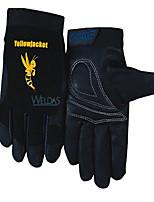вэй Teshi 10-2660 машинистов короткий тонкие перчатки из свиной кожи по охране труда и прочный противоскользящие размер вождения л