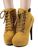 Women's Boots Spring / Fall / WinterPlatform / Snow Boots /  Gladiator / Comfort / Shoes & Matching Bags /