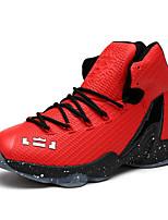 Homme-Sport-Noir / Bleu / Rouge / Noir et rouge / Bleu royal-Talon Plat-Confort-Chaussures d'Athlétisme-Synthétique