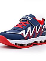 Синий / Красный / Тёмно-синий-Для мальчиков-Для занятий спортом-Полиуретан-На плоской подошве-На плокой подошве-Спортивная обувь