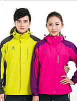 Hiking Softshell Jacket Unisex Waterproof / Breathable / Thermal / Warm / Quick Dry / Windproof / Wearable