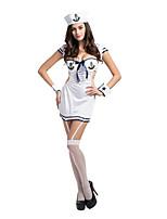 Women's Sailor Navy Sexy Lingerie Garter Fancy Halloween Costume